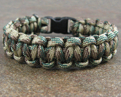 Camouflage - Single Braid Paracord Bracelet