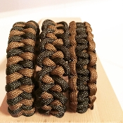 OD Green/Coyote single braid- 550 paracord bracelet