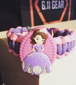 Sofia the First Paracord Bracelet