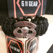 US Army - Special Forces Jump Wings Paracord Bracelet