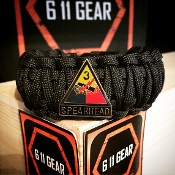US Army - 3rd Armored Division King Cobra paracord Bracelet