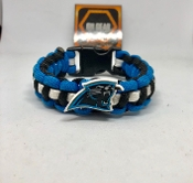 Carolina Panthers Paracord Bracelet