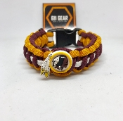 Washington Redskins Paracord Bracelet