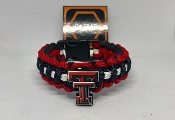 Texas Tech Red-Raiders Paracord Bracelet