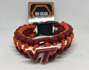Virginia Tech Hokies Paracord Bracelet