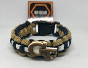 Georgia Tech Yellow Jackets Paracord Bracelet