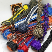 Create your own - Monkey Fist Paracord KeyChain
