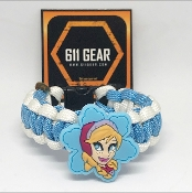 Frozen - Anna- Face Kid's Paracord Bracelet