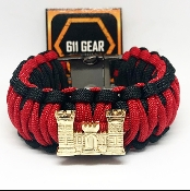 US Army Corps of Engineers- Castle King Cobra Paracord Bracelet