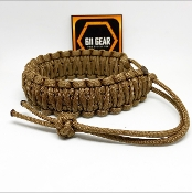Mad Max Style King Cobra Paracord Bracelet