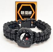 Compass Emergency Survival Paracord Bracelet